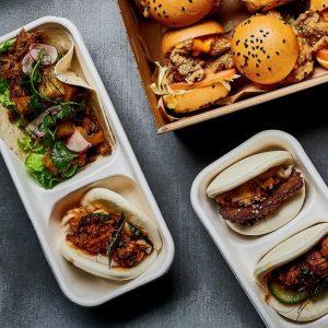 Sliders, Tacos, Sausage Rolls and Bao Buns